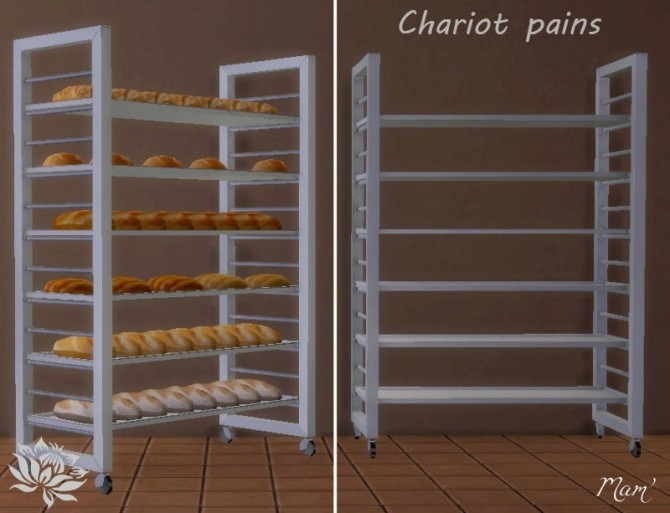 Bakery equipment by Maman Gateau at Sims Artists image 1872 670x513 Sims 4 Updates