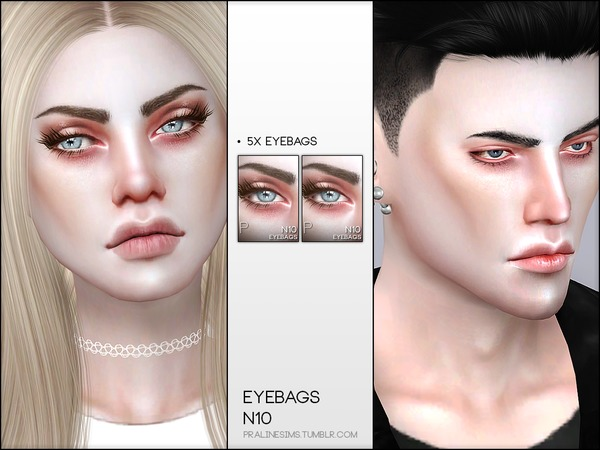 Skin Detail Kit N07 by Pralinesims at TSR image 1885 Sims 4 Updates