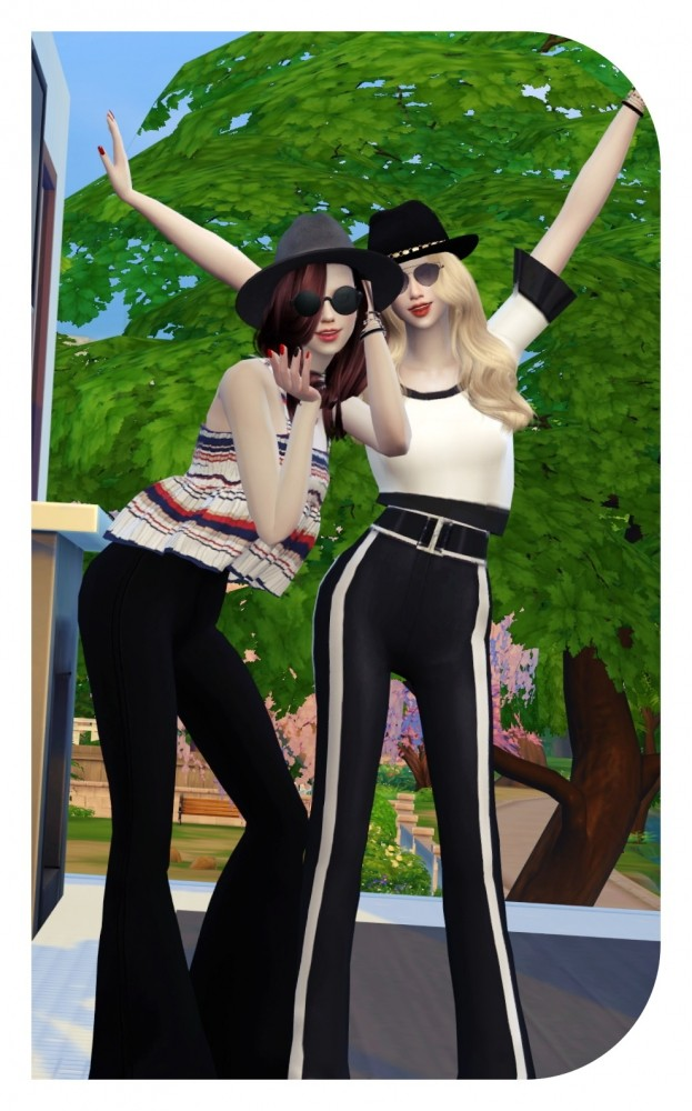 AESTHETIC GIRL TOP at Candy Sims 4 » Sims 4 Updates