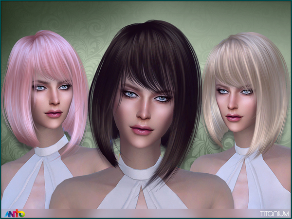 Titanium Hair by Anto at TSR image 19 Sims 4 Updates