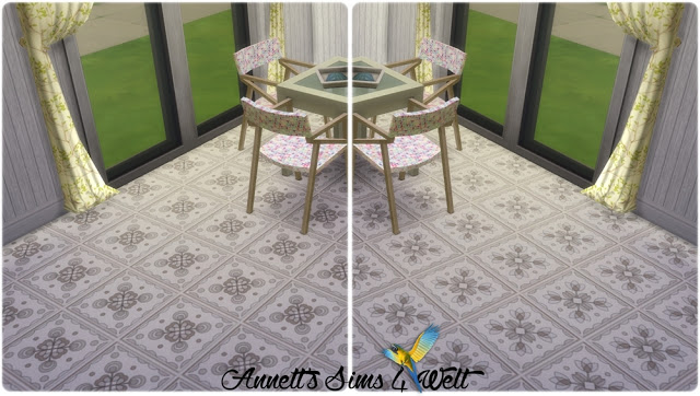 Sims 4 Light Browns Floor Tiles at Annett's Sims 4 Welt