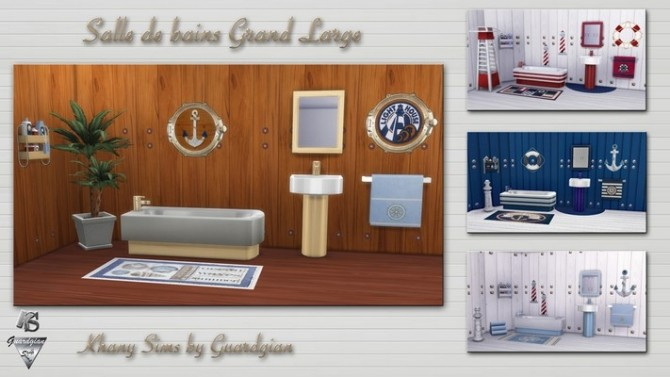 GRAND LARGE bathroom by Guardgian at Khany Sims image 20112 670x377 Sims 4 Updates