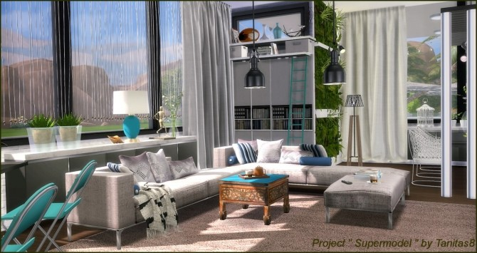 Sims 4 Supermodel Project Home at Tanitas8 Sims