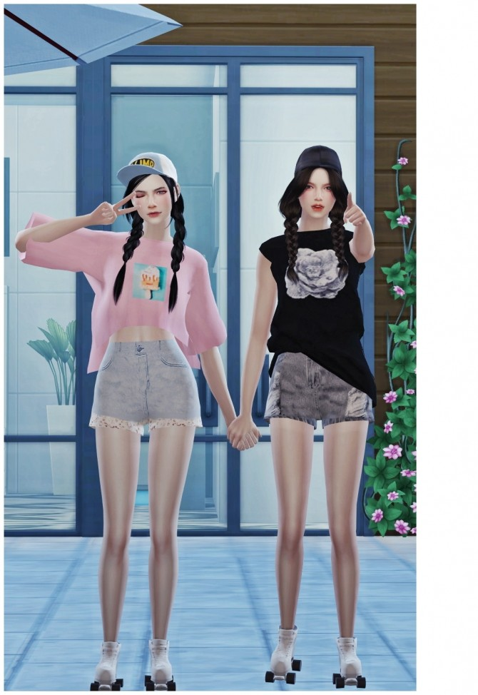 ROLLER SKATING POSES SET at Flower Chamber image 2035 670x974 Sims 4 Updates