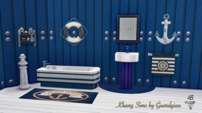 GRAND LARGE bathroom by Guardgian at Khany Sims image 2037 670x377 Sims 4 Updates
