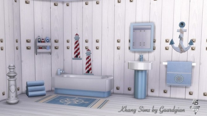 GRAND LARGE bathroom by Guardgian at Khany Sims image 2057 670x377 Sims 4 Updates