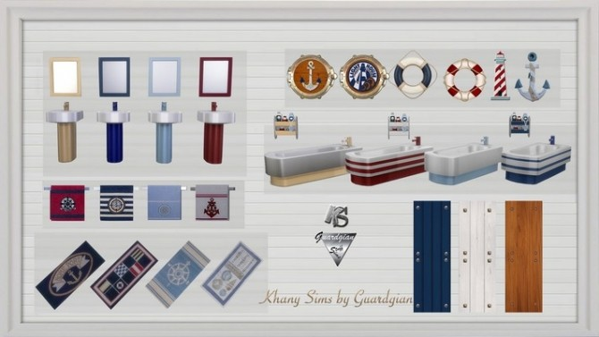 GRAND LARGE bathroom by Guardgian at Khany Sims image 2067 670x377 Sims 4 Updates