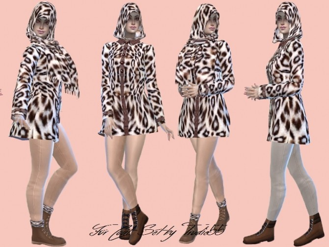 T55 Fur coat set at Trudie55 image 2077 670x503 Sims 4 Updates
