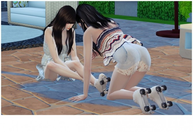ROLLER SKATING POSES SET at Flower Chamber image 2085 670x461 Sims 4 Updates