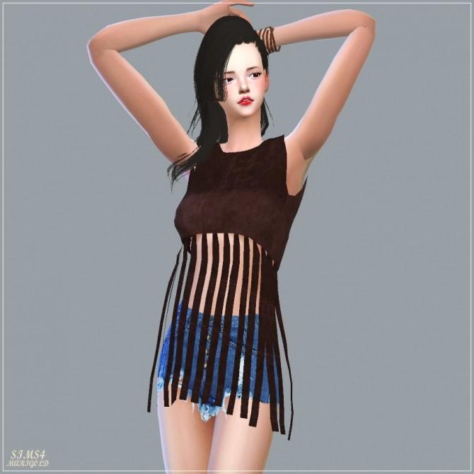 Fringe Crop Top at Marigold image 2105 670x670 Sims 4 Updates