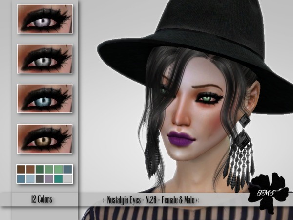 IMF Nostalgia Eyes N.28 F/M by IzzieMcFire at TSR image 2108 Sims 4 Updates