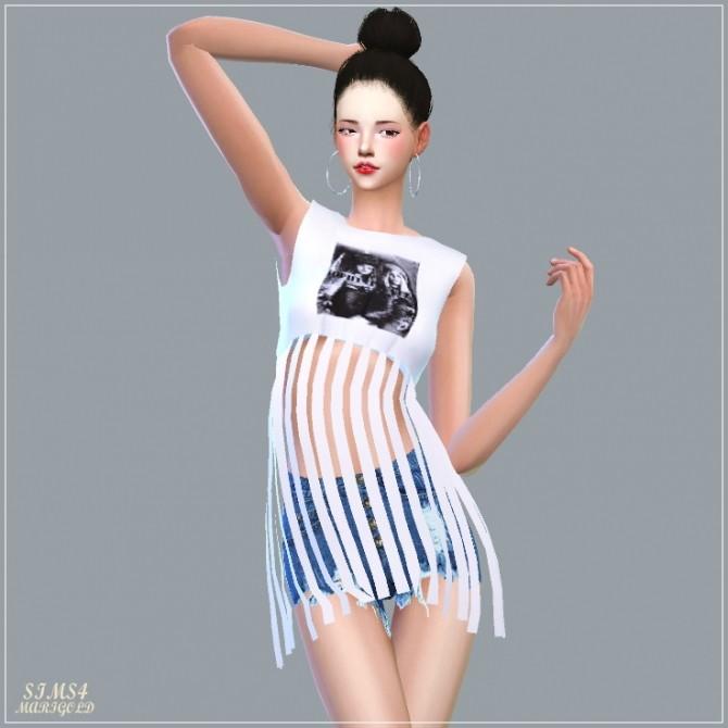 Fringe Crop Top at Marigold image 2117 670x670 Sims 4 Updates