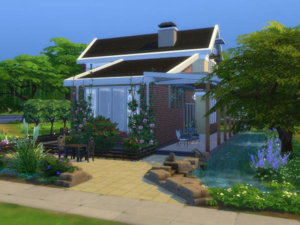 Sims 4 Zenix house by Danuta720 at TSR