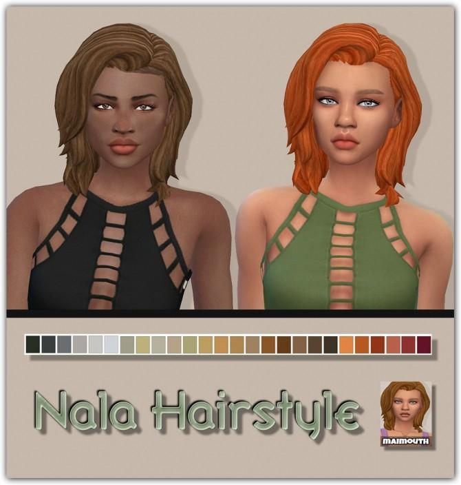 Nala ethnic hair retexture at Maimouth Sims4 image 212 670x704 Sims 4 Updates