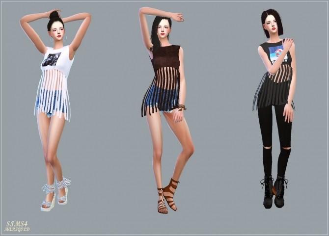 Fringe Crop Top at Marigold image 2133 670x481 Sims 4 Updates