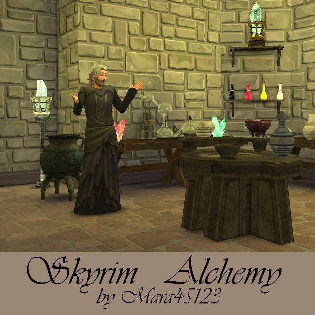 Skyrim Alchemy Set At Mara45123 » Sims 4 Updates