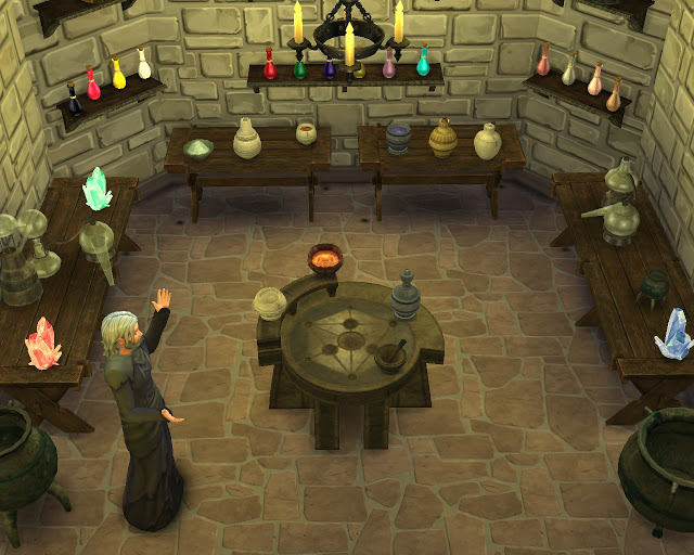 Skyrim Alchemy Set At Mara45123 187 Sims 4 Updates