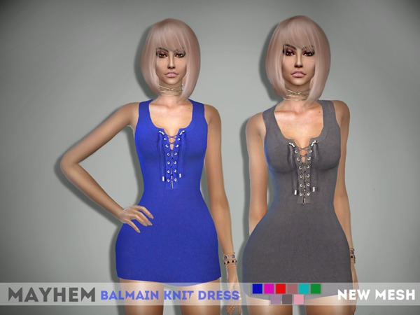 Knit Dress by mayhem sims at TSR image 224 Sims 4 Updates