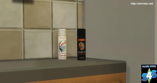 Sims 4 Deodorant Deco at Simista