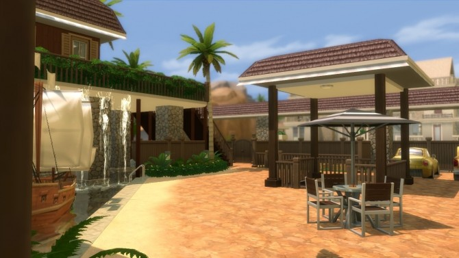 Oakwood Tropical Home by mlpermalino at Mod The Sims image 2295 670x377 Sims 4 Updates
