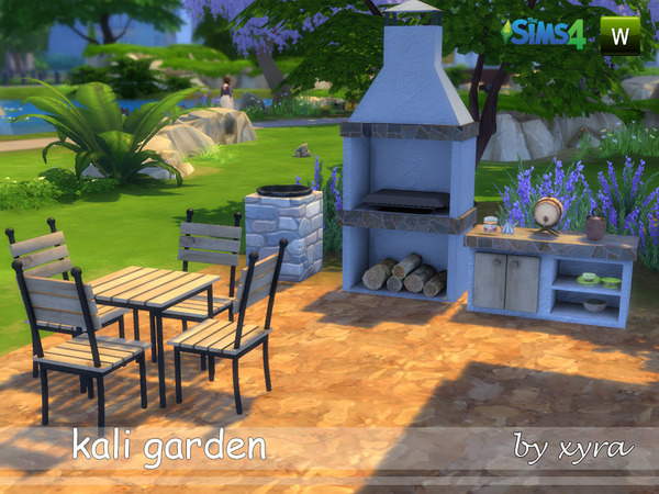 Sims 4 Kali set garden by xyra33 at TSR