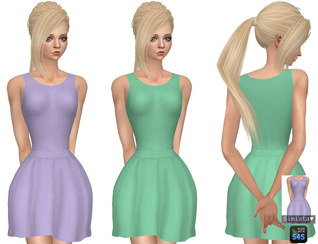 Abbey Dress at Simista image 2331 Sims 4 Updates