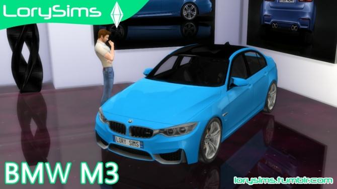 Bmw M3 At Lorysims 187 Sims 4 Updates