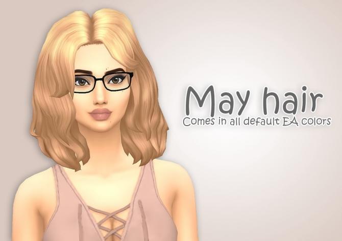 Hairstyles Updates: May Hair At Ivo-Sims » Sims 4 Updates