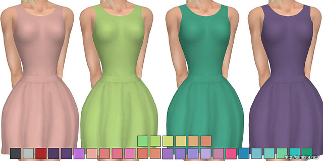 Abbey Dress at Simista image 2341 Sims 4 Updates