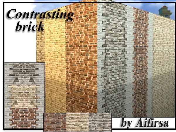 Contrasting Brick at Lady Venera image 2438 Sims 4 Updates
