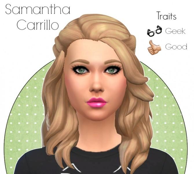 Sims 4 Samantha Carrillo at Simelicious