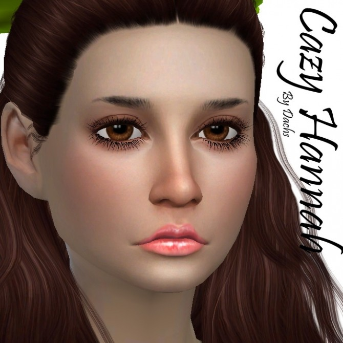 Sims 4 Cazy Hannah hair recolors at Dachs Sims