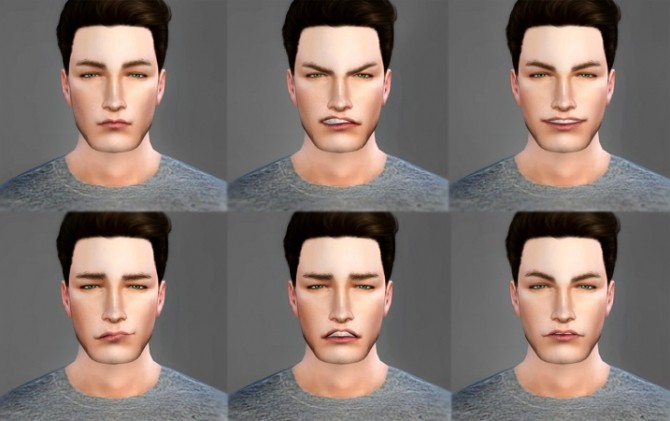 Sims 4 Pose Pack Emotions (01) at Angissi