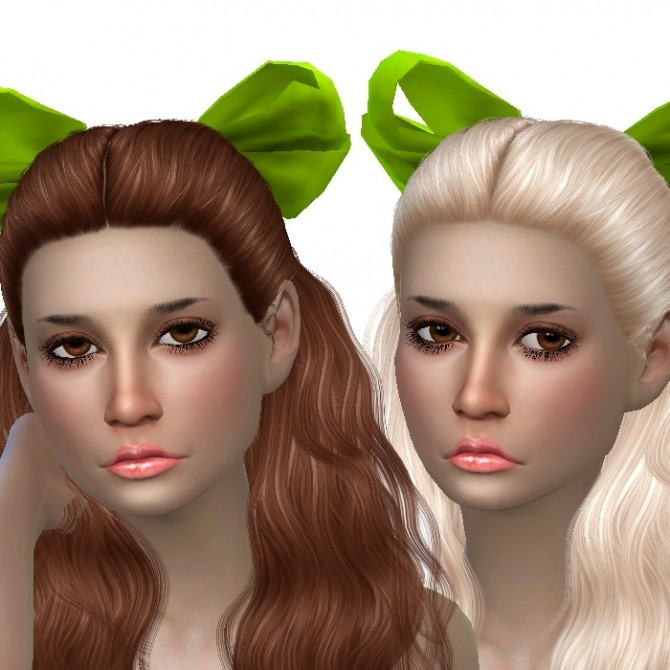 Cazy Hannah hair recolors at Dachs Sims image 250 670x670 Sims 4 Updates