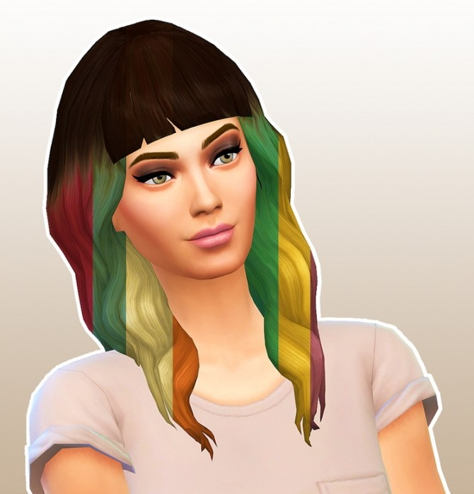 Wolfy Ombre hair at 4 Prez Sims4 image 2511 670x698 Sims 4 Updates