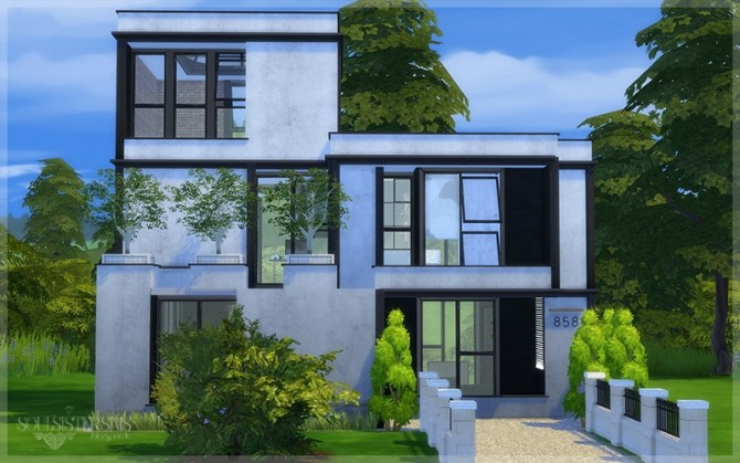 #35 Quarter Home at SoulSisterSims image 2541 670x419 Sims 4 Updates