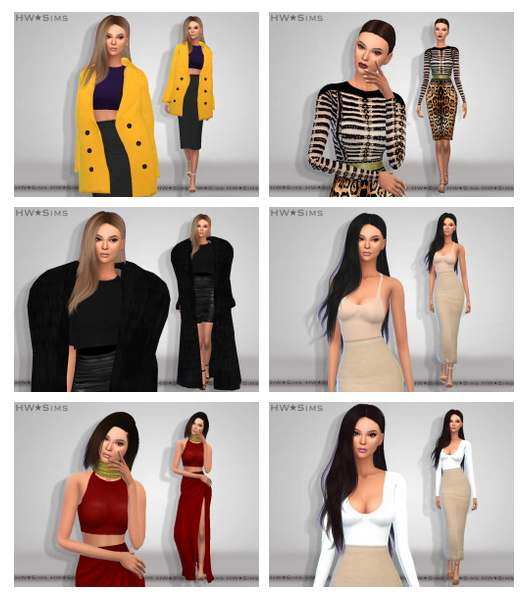 Sims 4 Shinokcr S4 Elegant Bathroom Hutch: 100+ Looks Of Kim Kardashian, 19 Versions At HWSims » Sims