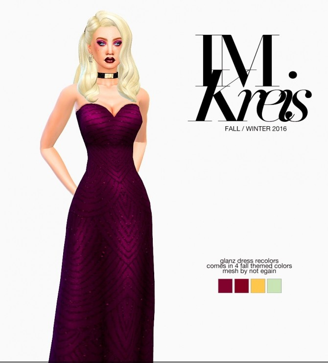 Sims 4 Winter Collection Look #3 at Ecoast