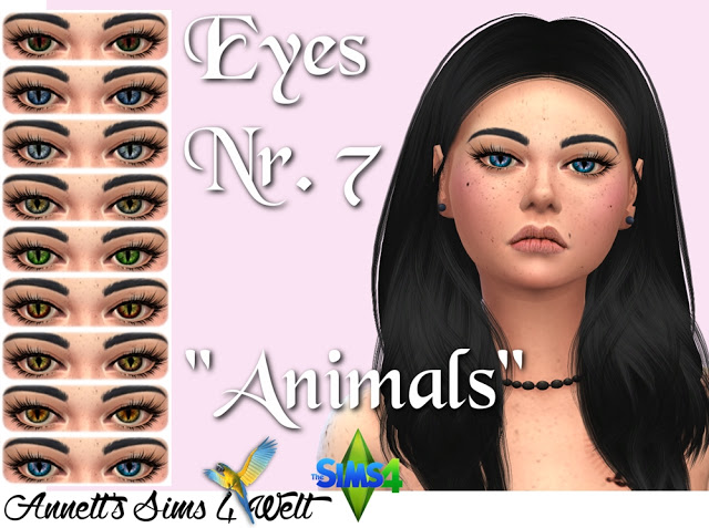 Eyes Nr. 7 Animals at Annett's Sims 4 Welt image 2752 Sims 4 Updates
