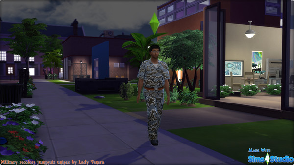 Military jumpsuit recolors at Lady Venera image 2767 Sims 4 Updates