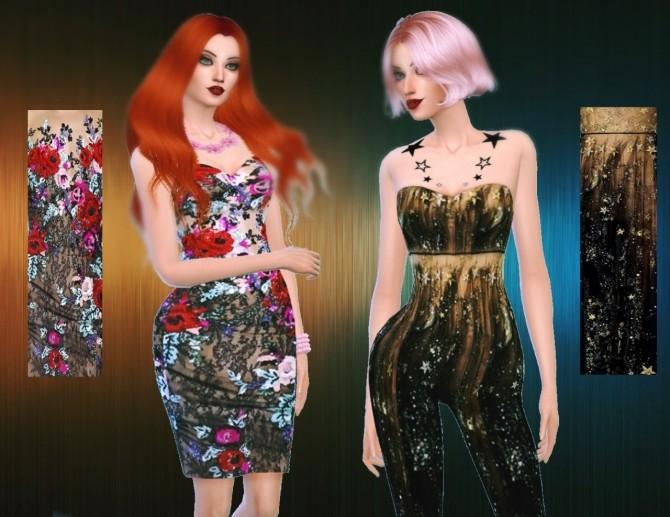 3 Dresses Amp Jumpsuit At Apathie 187 Sims 4 Updates