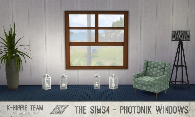 Sims 4 K Photonik ( Sunny/Moonlight ) Window at K hippie