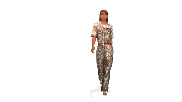 Military jumpsuit recolors at Lady Venera image 2796 Sims 4 Updates