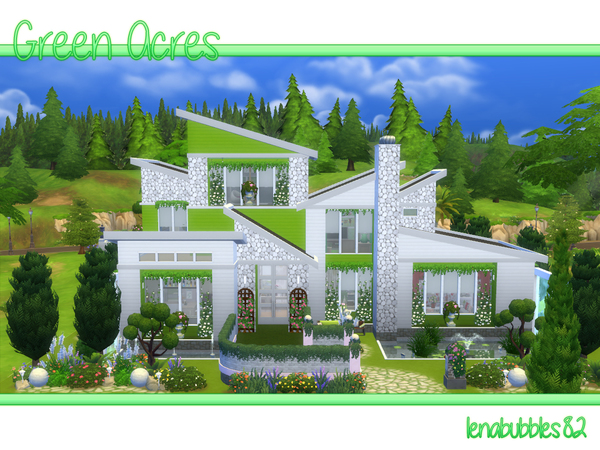 Green Acres house by lenabubbles82 at TSR image 2826 Sims 4 Updates