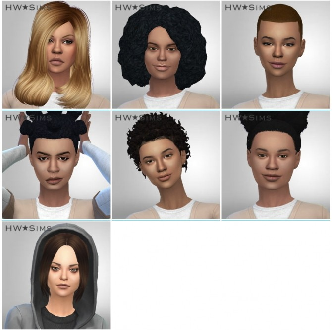 10 new and 6 updated characters of ORANGE IS THE NEW BLACK at HWSims image 2828 670x667 Sims 4 Updates