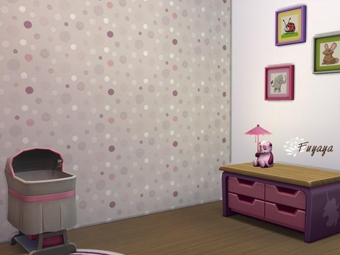 Kid Floral Walls by Fuyaya at Sims Artists image 285 670x503 Sims 4 Updates