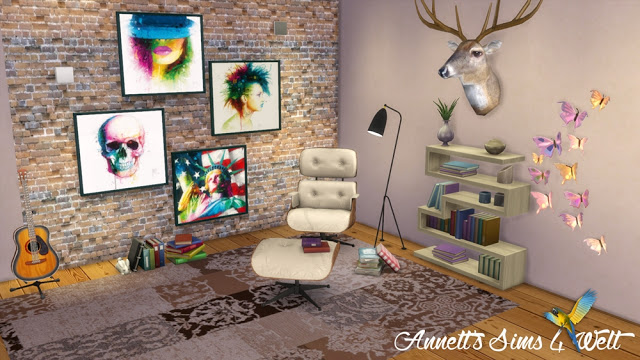Sims 4 Patrice Murciano Paintings at Annett's Sims 4 Welt
