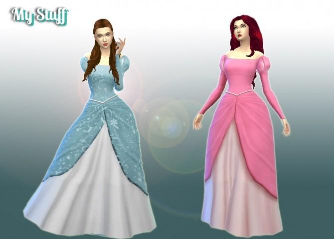 Ariel Dress at My Stuff image 2881 670x479 Sims 4 Updates