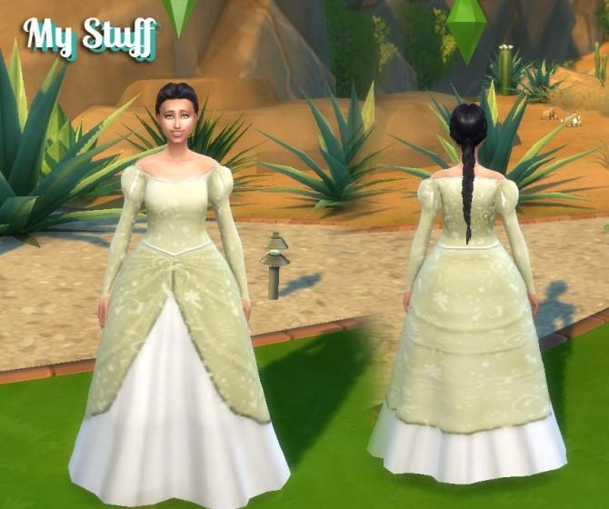Ariel Dress at My Stuff image 2891 670x560 Sims 4 Updates
