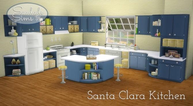Santa Clara Kitchen at Saudade Sims image 2905 670x368 Sims 4 Updates